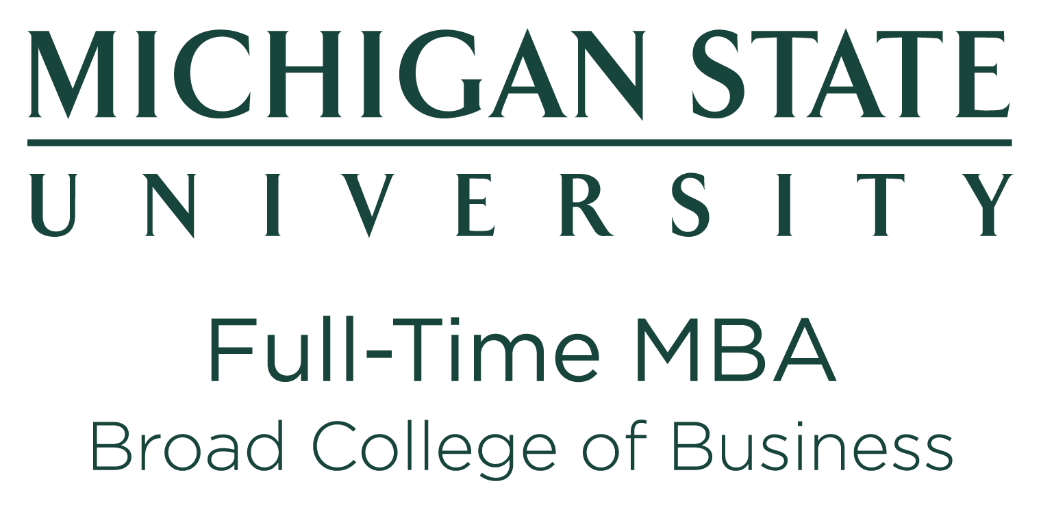 Michigan State Broad College of Business Large Logo
